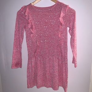 Sonoma Light Weight Heather Pink Sweater Dress